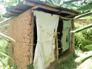 The Water Project:  Some Latrines Overseen In The Village