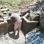The Water Project: Ewamakhumbi Community, Yanga Spring -  Spring Construction