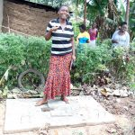 The Water Project: Isembe Community, Amwayi Spring -  Sanitation Platform