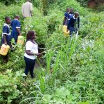 The Water Project: Shikusa Primary School -  At The Water Source