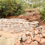 The Water Project: Mbakoni Community A -  Well Construction