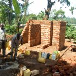 The Water Project: Muyere Primary School -  Latrine Construction