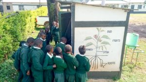 The Water Project:  Line At The Latrines