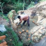 The Water Project: Chegulo Community, Werabunuka Spring -  Spring Construction