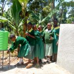 The Water Project: Muyere Primary School -  Handwashing Station