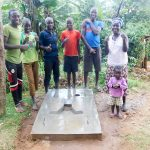 The Water Project: Chegulo Community, Yeni Spring -  Sanitation Platform