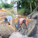 The Water Project: Muyundi Community -  Spring Construction