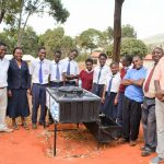 The Water Project: Ndoo Secondary School -  New Student Health Leadership