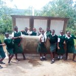The Water Project: Kwirenyi Secondary School -  Finished Latrines