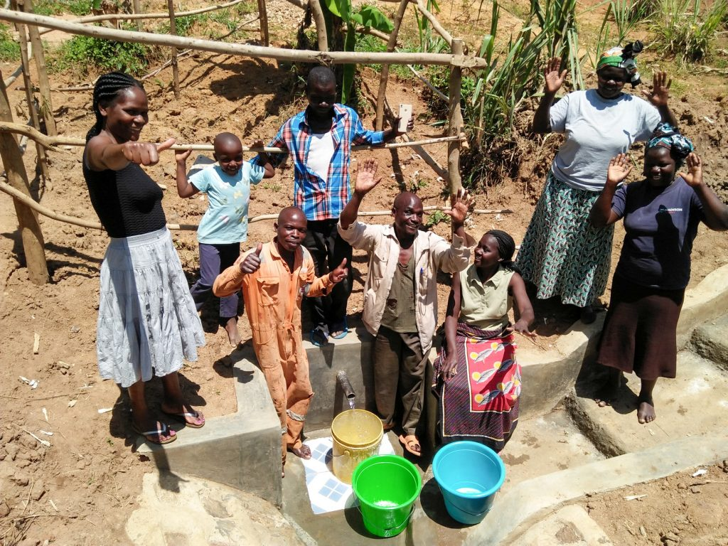 The Water Project : 17-kenya18155-flowing-water