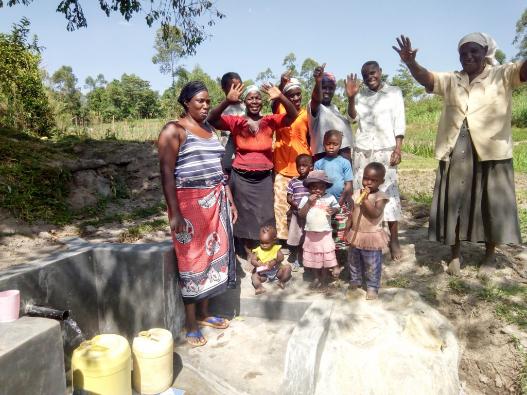 The Water Project : 17-kenya18156-water-flowing