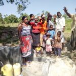 The Water Project: Indete Community, Udi Spring -  Water Flowing