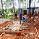 The Water Project: Viyalo Primary School -  Preparing A Latrine Foundation