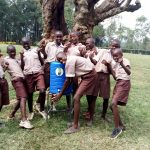The Water Project: Lusiola Primary School -  Handwashing Station