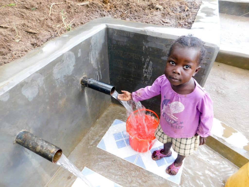 The Water Project : 18-kenya18141-finished-spring-protection