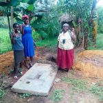 The Water Project: Chegulo Community, Werabunuka Spring -  Sanitation Platform