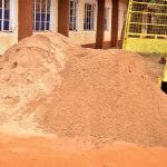 The Water Project: Ndoo Secondary School -  Sand Delivery