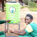 The Water Project: Gemeni Salvation Primary School -  Handwashing Station