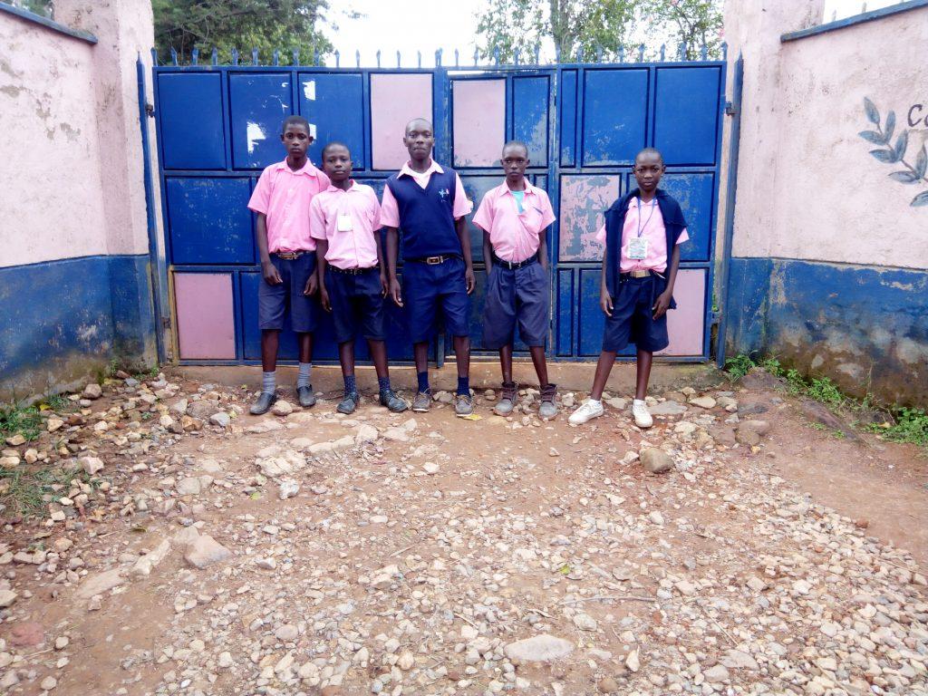 The Water Project : 2-kenya18062-school-entrance