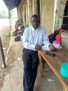 The Water Project:  Headteacher Christopher Ombula