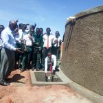 The Water Project: Kwirenyi Secondary School -  Finished Water Tank