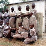 The Water Project: Lusiola Primary School -  Finished Latrines