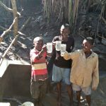 The Water Project: Ewamakhumbi Community, Yanga Spring -  Finished Spring Construction