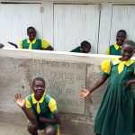 The Water Project: Gemeni Salvation Primary School -  Finished Latrines
