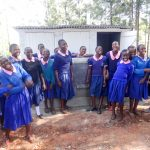 The Water Project: Viyalo Primary School -  Finished Latrines