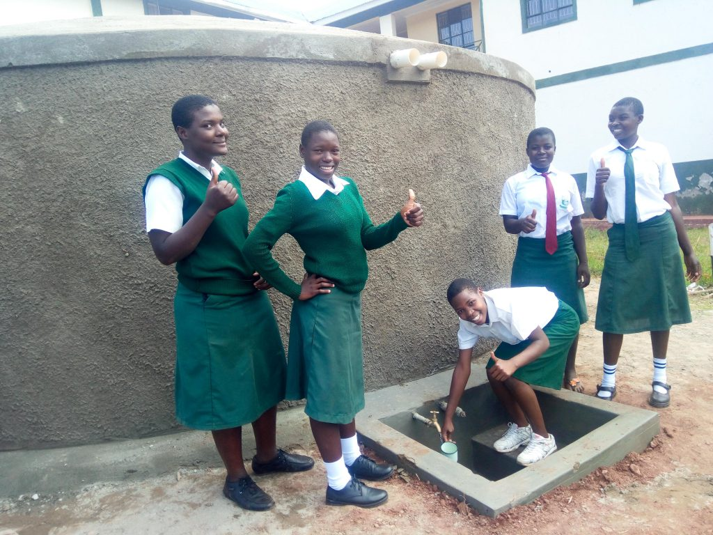 The Water Project : 22-kenya18036-finished-water-tank