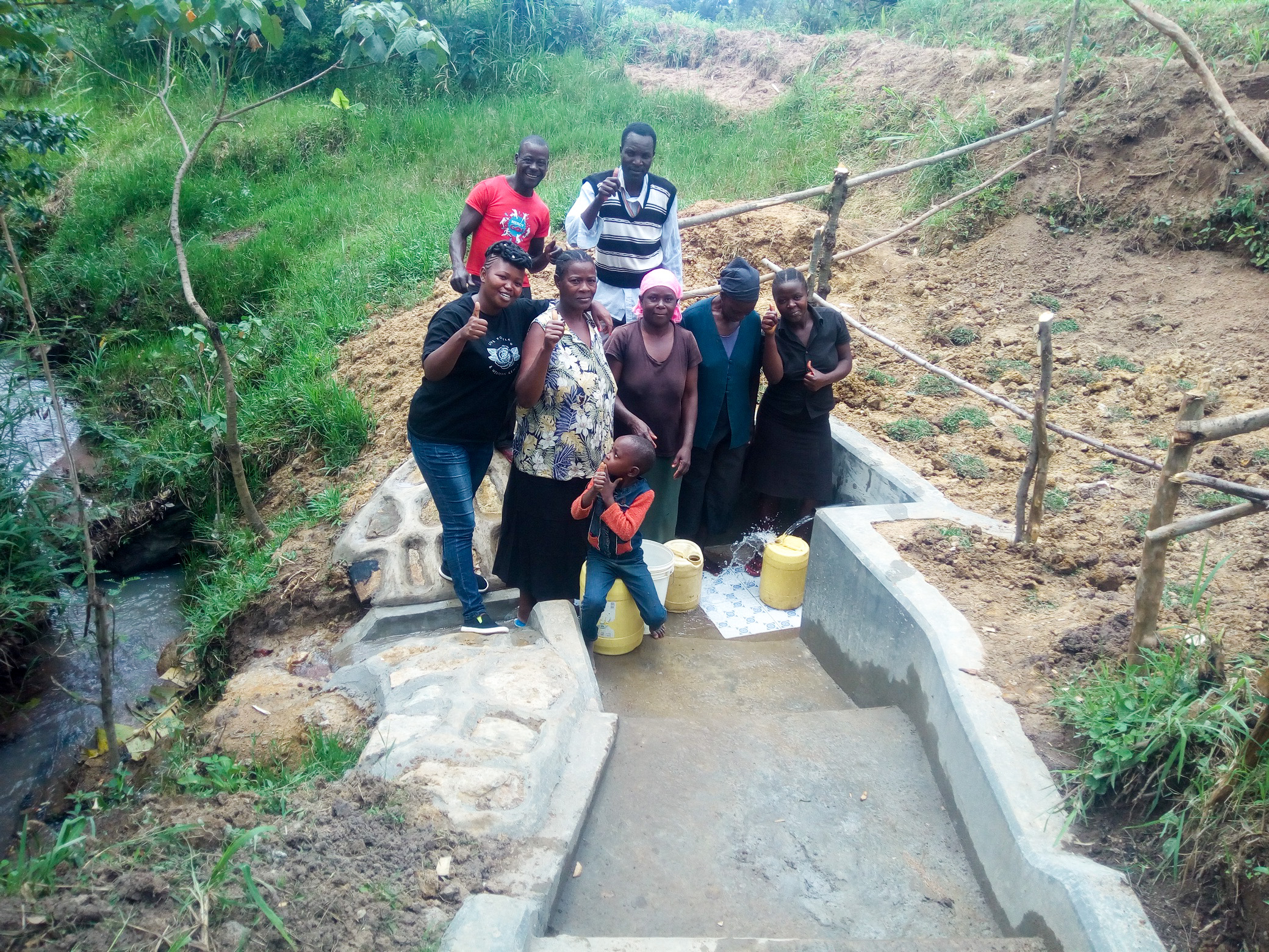 The Water Project : 22-kenya18146-finished-spring-protection