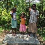 The Water Project: Ewamakhumbi Community, Yanga Spring -  Sanitation Platform
