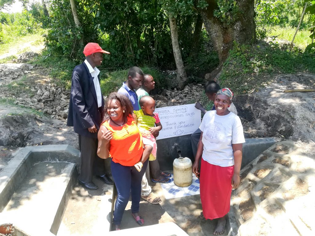 The Water Project : 27-kenya18142-thank-you