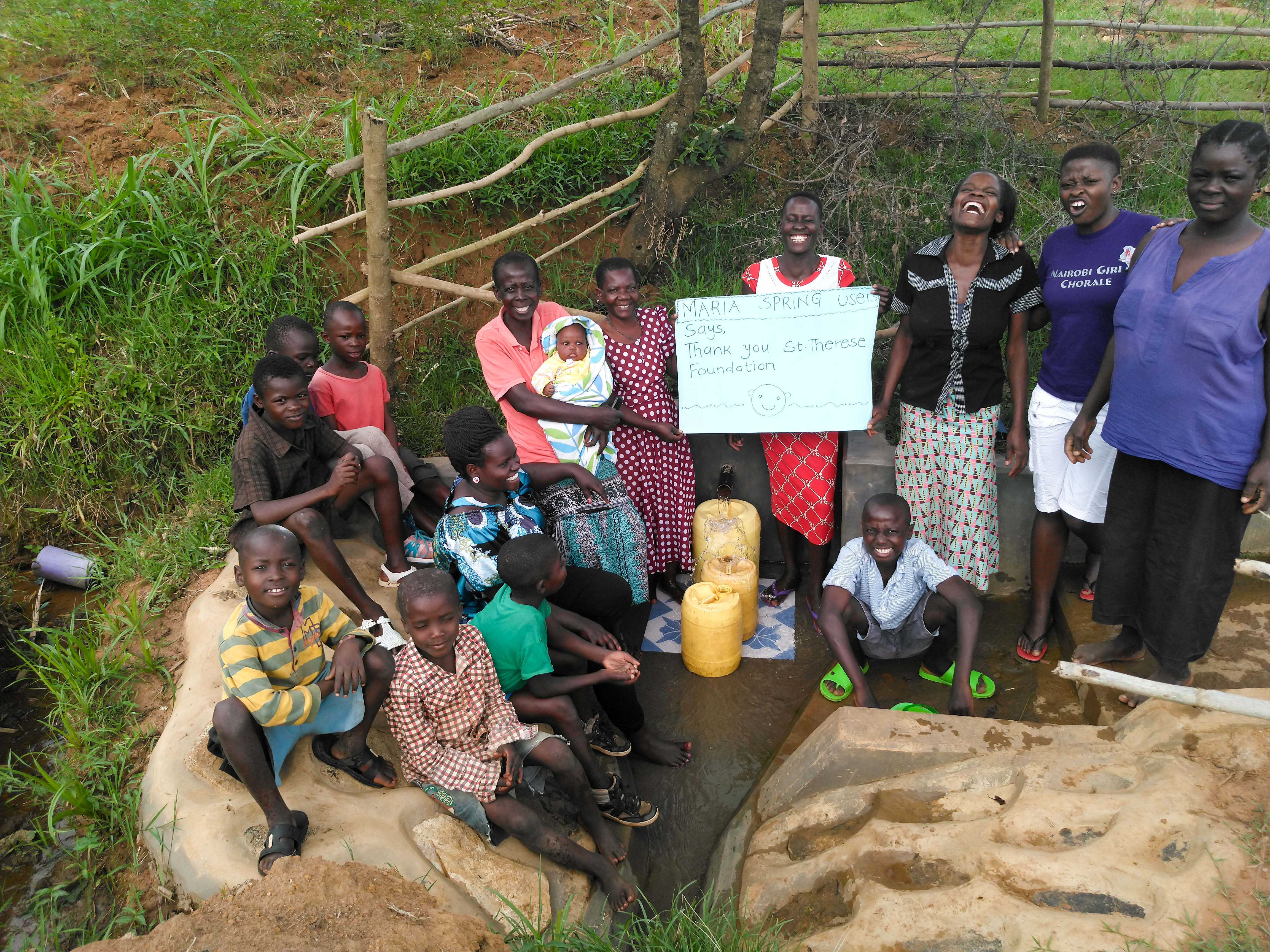 The Water Project : 28-kenya18140-thank-you