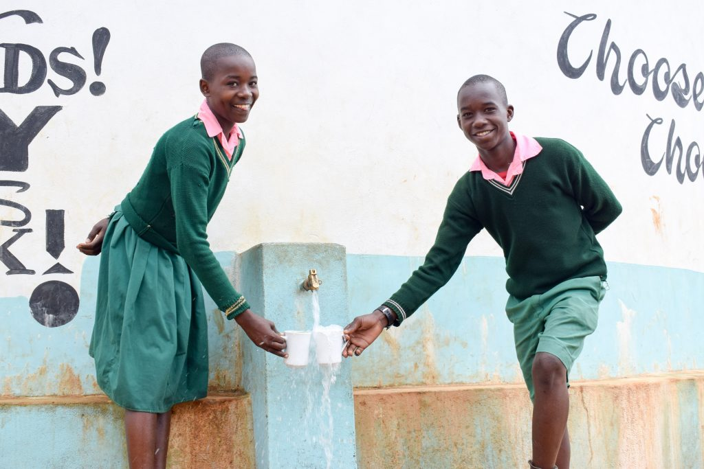 The Water Project : 3-kenya4796-a-year-with-water