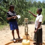 The Water Project: Eshitowa Community -  Interviewing Razia Sumba