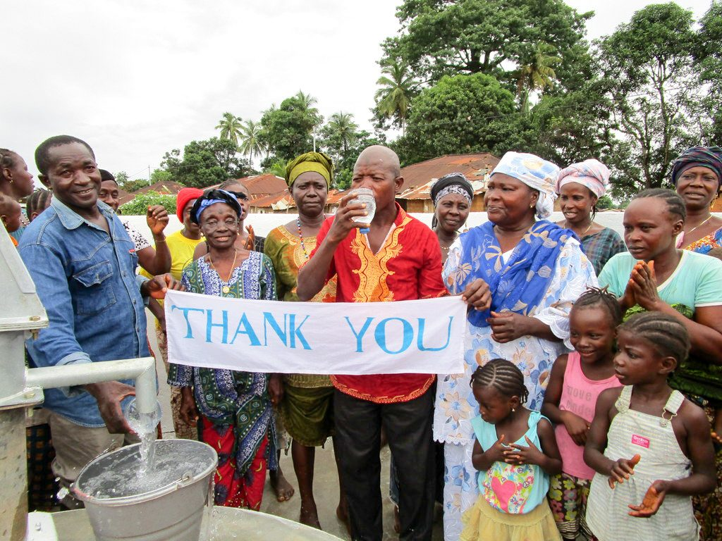 The Water Project : 31-sierraleone18279-clean-water