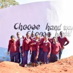 The Water Project: Ndoo Secondary School -  Finished Tank