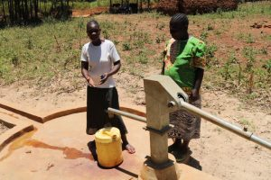The Water Project:  Razia Sumba And Gladys Were At Their Well