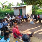 The Water Project: Alimugonza Community -  Lunch Break During Training
