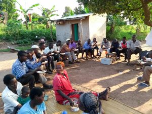 The Water Project:  Lunch Break During Training