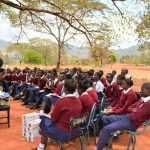 The Water Project: Ndoo Secondary School -  Training