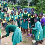 The Water Project: Gemeni Salvation Primary School -  Handwashing Training