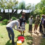 The Water Project: Chegulo Community, Werabunuka Spring -  Handwashing Training