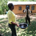 The Water Project: Ematetie Community, Chibusia Spring -  Handwashing Training