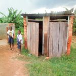 The Water Project: Shikusa Primary School -  Boys Latrines