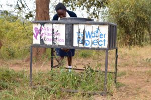 The Water Project:  Handwashing Stations Are Still Being Used