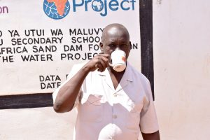 The Water Project:  Principal Kyengo Michael