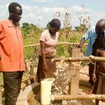 The Water Project: Alimugonza Pabidi Community -  Finished Well