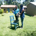 The Water Project: Muyundi Community, Baraza Spring -  Handwashing Training